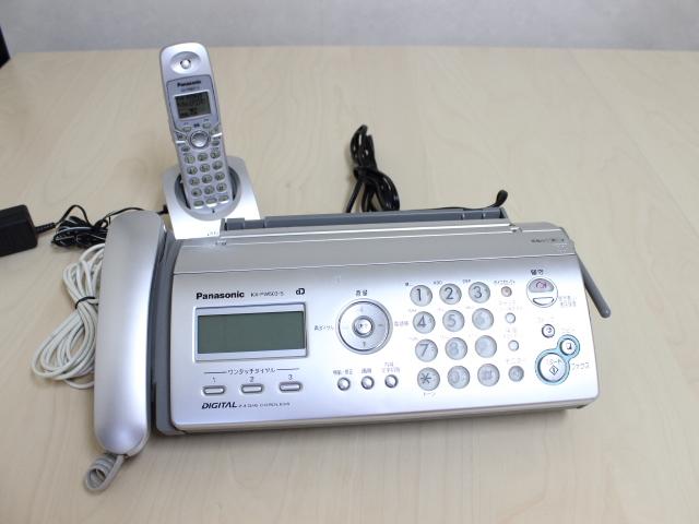 パナソニック FAX付電話機 KX-PW503-S