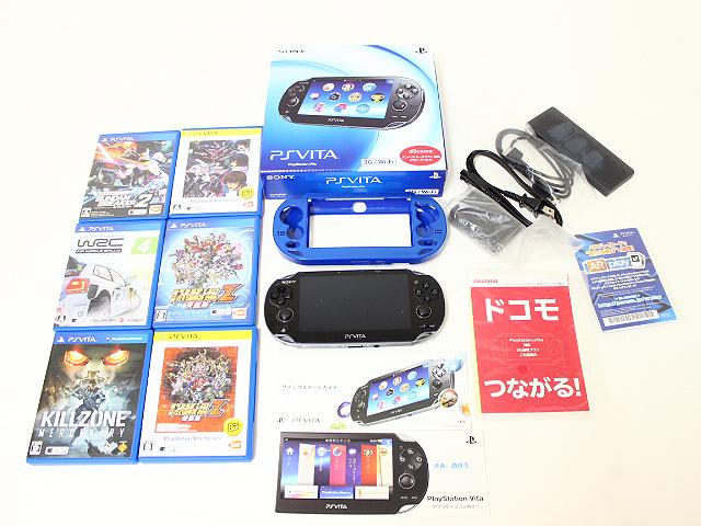 PS VITA PCH-1100 AB01 本体 メモリーカード8G +ソフト6本