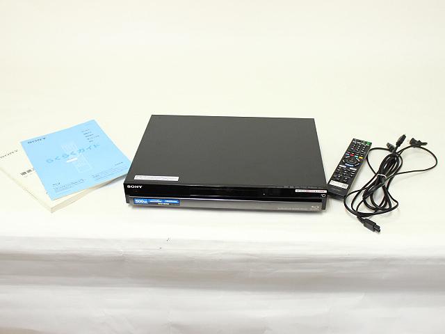 ソニー ブルーレイディスク/DVDレコーダー BDZ-RX50 500G