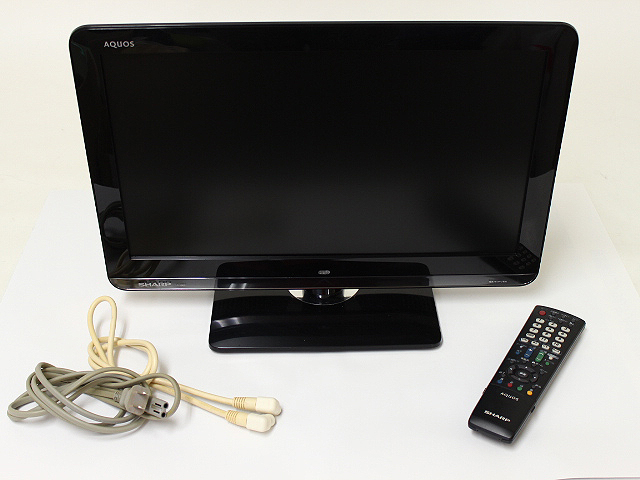 シャープ アクオス LC-19K3 地デジ液晶テレビ ブラック